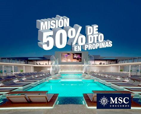 MSC  Promoción propinas
